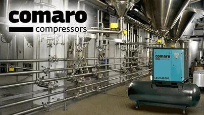 Винтовые компрессоры COMARO