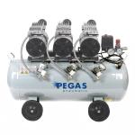 Бесшумный Компрессор PEGAS PG-9800 безмасляный