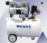 Бесшумный компрессор  PEGAS PG-1100 безмасляный