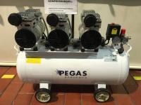 Бесшумный компрессор PEGAS PG-2400 безмасляный